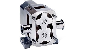 High viscosity rotary lobe pump